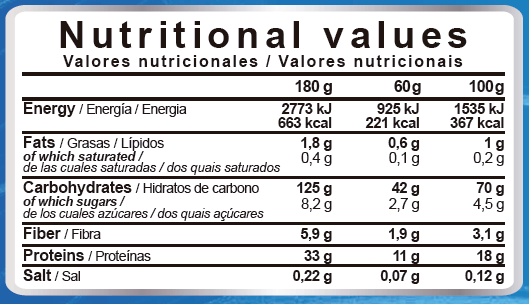 professional real mass nutritional